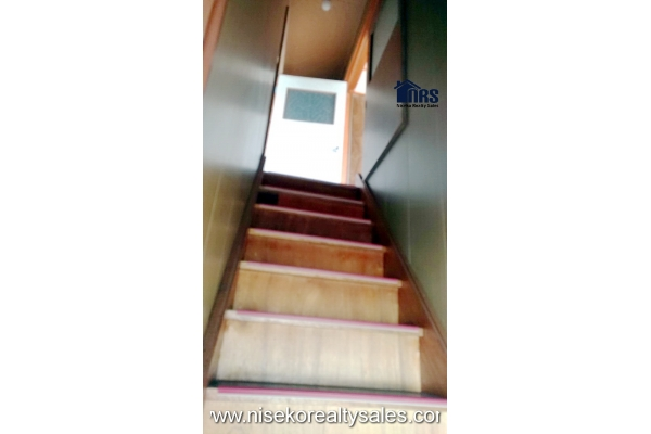 Staircase to 2nd Floor 2 bedrooms.