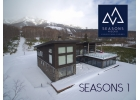 SEASONS Niseko 1 with Niseko Annupuri Ski Resort in the background