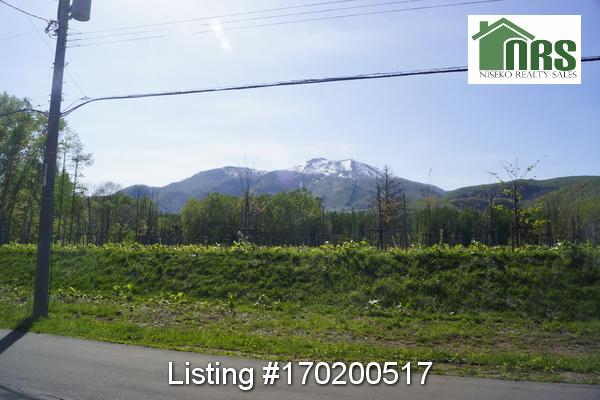 View from front of home towards Niseko Annupuri Ski Mountain.