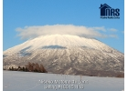 Close up view of Mt Yotei.
