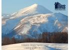 Close up view of Mt Niseko Annupuri. Niseko Ski Mountain.