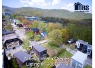 looking in a northerly direction aerial View 6 of corner property in Niseko Hirafu Village.