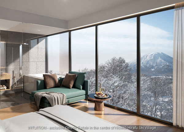 INTUITION Niseko. Yotei 3 beds 05 unit master. Contact Niseko Realty Sales now