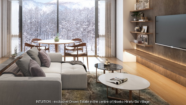 INTUITION - small two bed and one bedroom living area (1) Contact Niseko Realty Sales now.