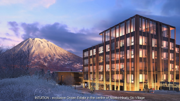 Intuition hotel condo - Niseko Hirafu Ski Resort Apartments For Sale