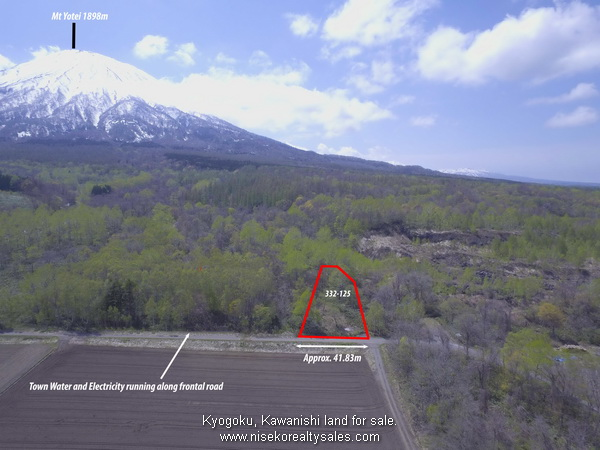 332-125_KawanishiBlock with Mt Yotei in the background.