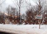 Looking northerly into the block. Niseko Grande Hirafu Night skiing lights seen in the background.