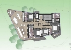 Niseko HAVEN Penthouse #201 Floorplan