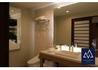 Style of bathroom craftsmanship and layout.